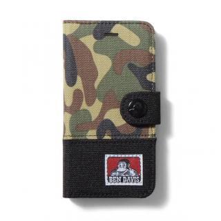 BENDAVIS  バイカラー手帳型ケース カモフラ/ブラック iPhone 6s/6