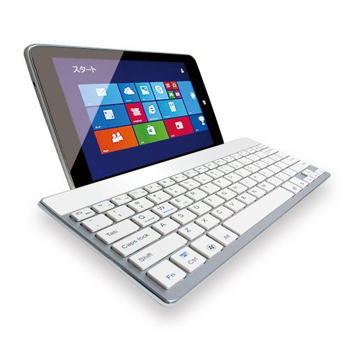 ウルトラスリム Bluetoothキーボード  Tablet (Windows/iOS/Android) ホワイト_0