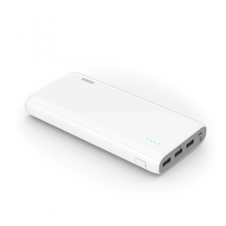 [25600mAh]Anker Astro E7 PowerIQ搭載 モバイルバッテリー 3ポート 4A出力 ホワイト