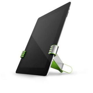 クリップ型タブレットスタンド TwoHands グリーン iPad/iPad mini/Android