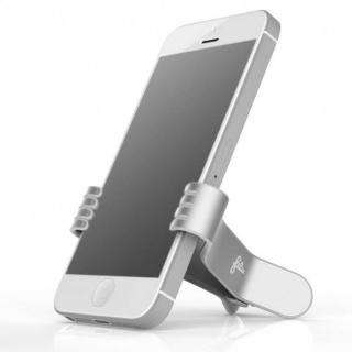 クリップ型スマートフォンスタンド SmallHands ホワイト iPhone 5s/5c/5/4s/4/Android