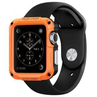 Spigen Apple Watch 42mm タフアーマーケース オレンジ