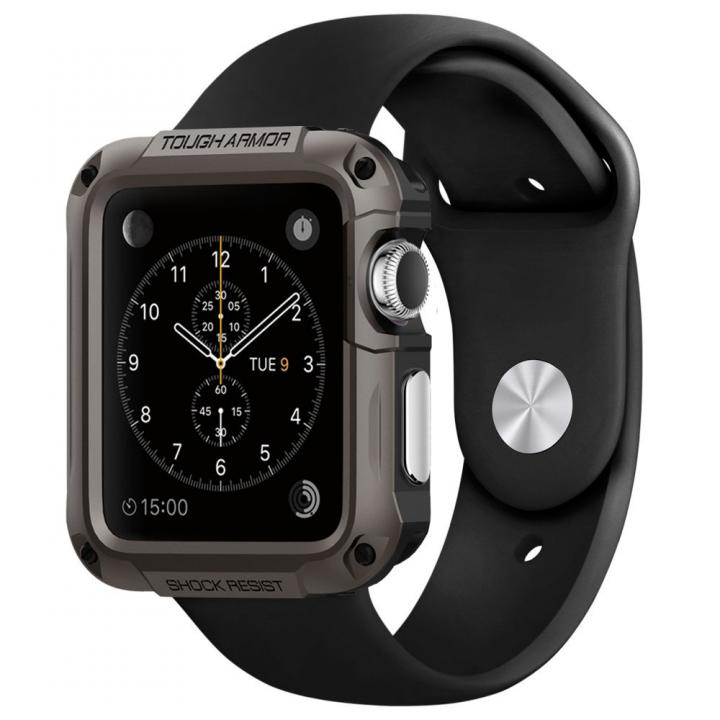 Spigen Apple Watch 42mm タフアーマーケース ガンメタル_0