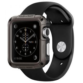 Spigen Apple Watch 42mm タフアーマーケース ガンメタル