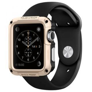 Spigen Apple Watch 42mm タフアーマーケース ゴールド