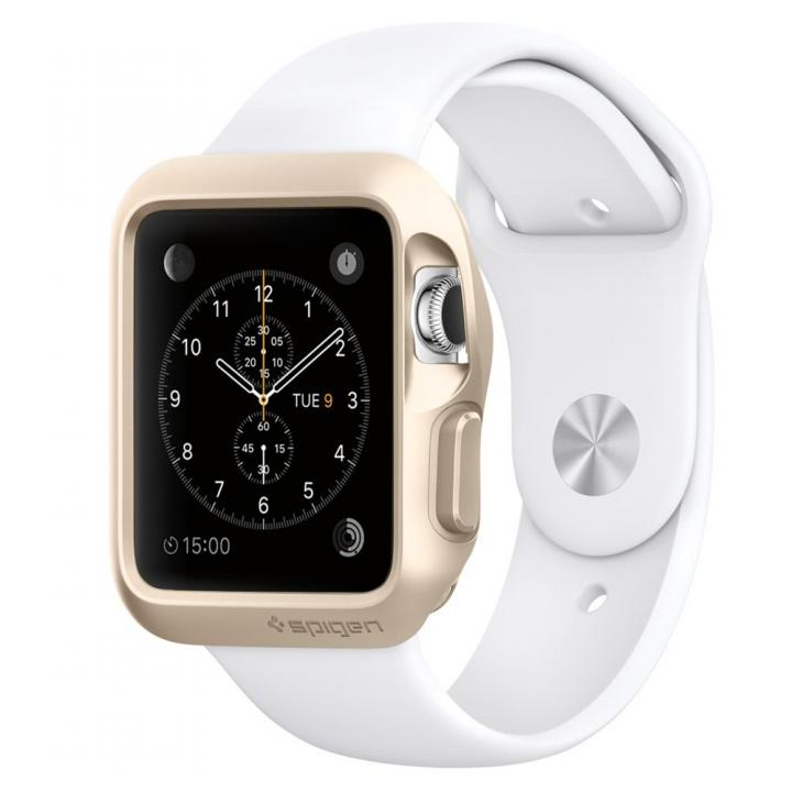 Spigen Apple Watch 38mm スリムアーマーケース ゴールド_0