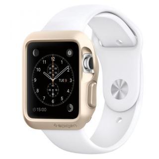 Spigen Apple Watch 38mm スリムアーマーケース ゴールド