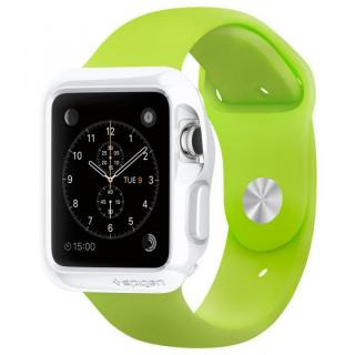 Spigen Apple Watch 42mm スリムアーマーケース ホワイト