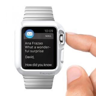 Spigen Apple Watch 42mm スリムアーマーケース ホワイト_1