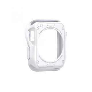 Spigen Apple Watch 42mm スリムアーマーケース ホワイト_3