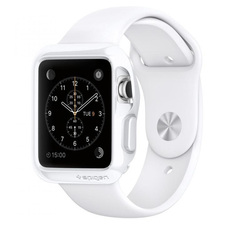 Spigen Apple Watch 38mm スリムアーマーケース ホワイト_0