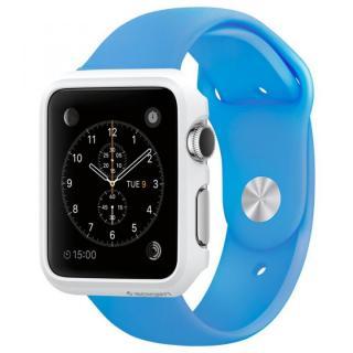 Spigen Apple Watch 42mm 薄型ハードケース スムースホワイト