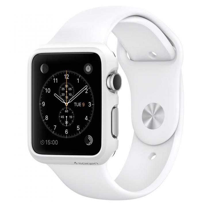 Spigen Apple Watch 38mm 薄型ハードケース スムースホワイト_0