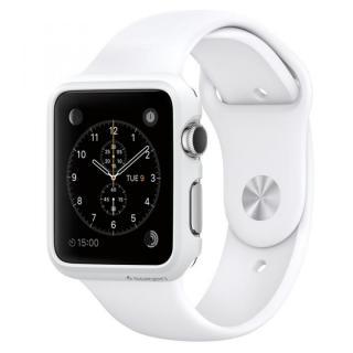 Spigen Apple Watch 38mm 薄型ハードケース スムースホワイト