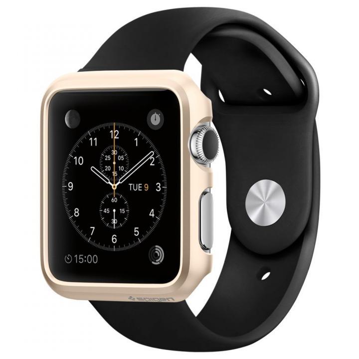 Spigen Apple Watch 42mm 薄型ハードケース ゴールド_0