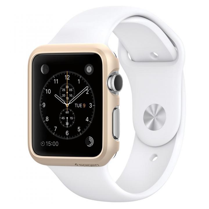 Spigen Apple Watch 38mm 薄型ハードケース ゴールド_0