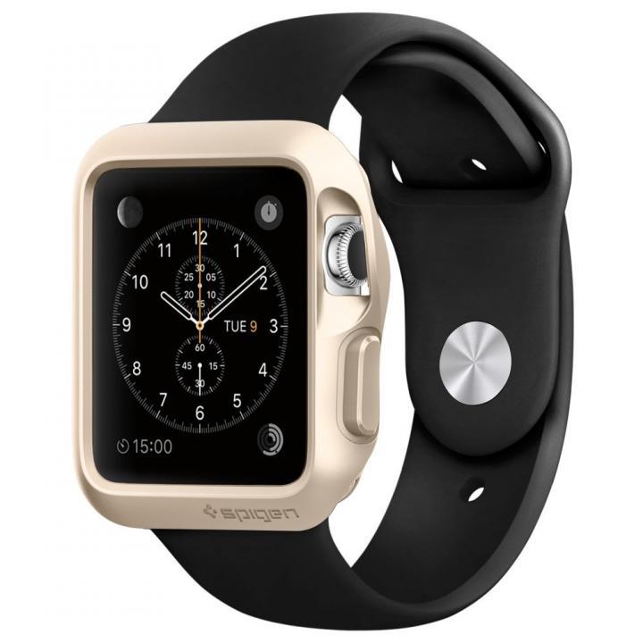 Spigen Apple Watch 42mm スリムアーマーケース ゴールド_0