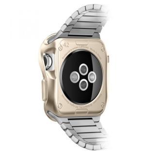 Spigen Apple Watch 42mm スリムアーマーケース ゴールド_2
