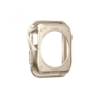 Spigen Apple Watch 42mm スリムアーマーケース ゴールド_3