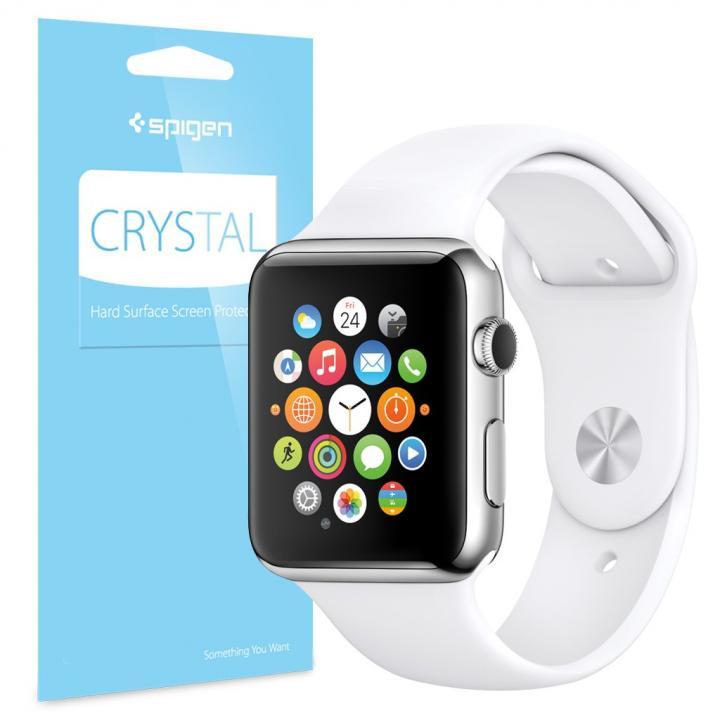 【7月下旬】Spigen Apple Watch 38mm 硬度3H保護フィルム