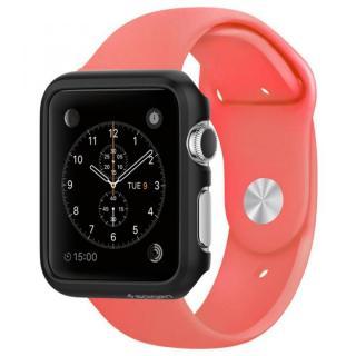 Spigen Apple Watch 42mm 薄型ハードケース スムースブラック