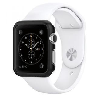 Spigen Apple Watch 38mm 薄型ハードケース スムースブラック