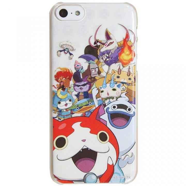 妖怪ウォッチ キャラクターケース 妖怪集合! iPhone 5cケース_0