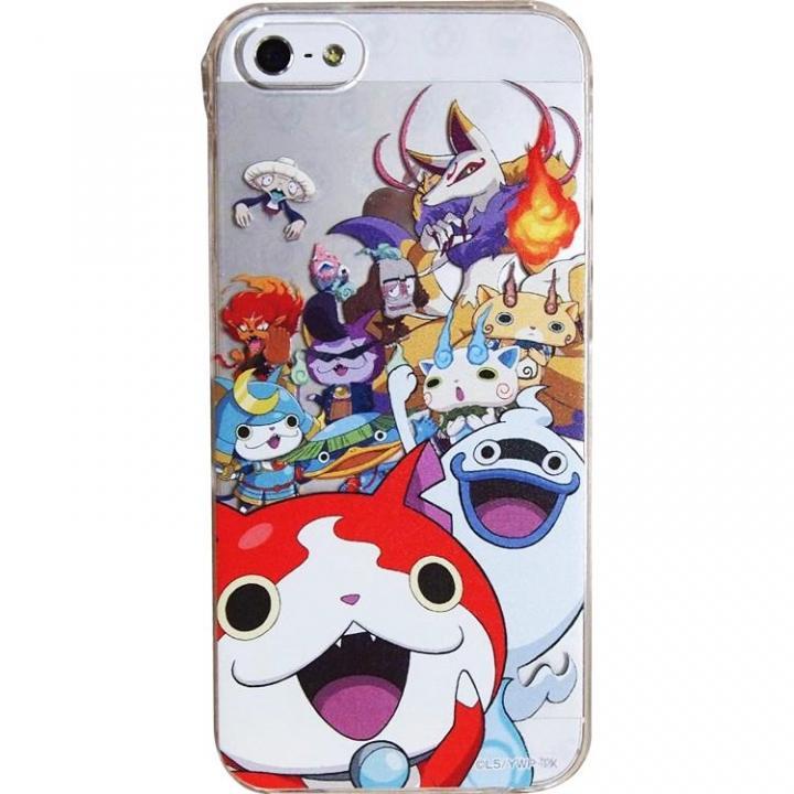 iPhone SE/5s/5 ケース 妖怪ウォッチ キャラクターケース 妖怪集合! iPhone 5s/5ケース_0