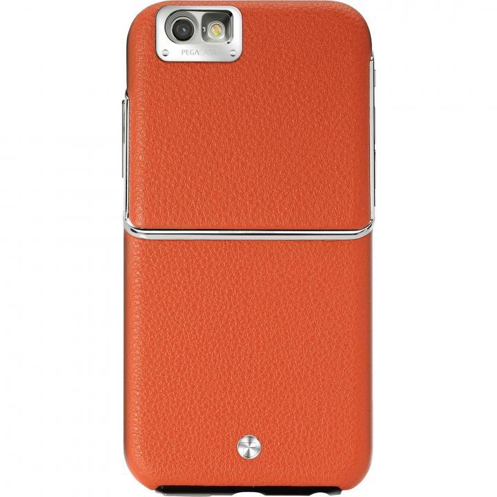 【iPhone6ケース】Maestro レザーケース オレンジ iPhone 6_0