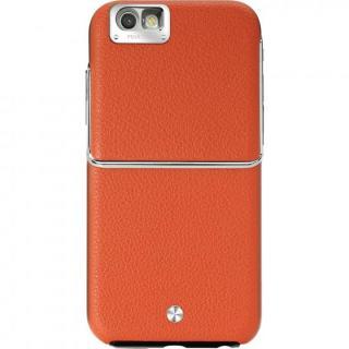 Maestro レザーケース オレンジ iPhone 6