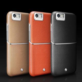 【iPhone6ケース】Maestro レザーケース オレンジ iPhone 6_1
