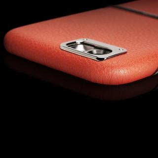 【iPhone6ケース】Maestro レザーケース オレンジ iPhone 6_6