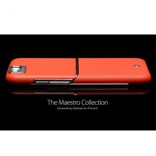 【iPhone6ケース】Maestro レザーケース オレンジ iPhone 6_7