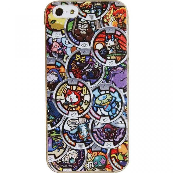 【iPhone SE/5s/5ケース】妖怪ウォッチ キャラクターケース メダル iPhone 5s/5ケース_0
