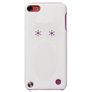 iPod touch (第5世代) 本革張りハードケース フクロウ