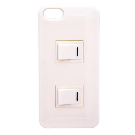パチパチスイッチケース ホワイト iPhone SE/5s/5ケース