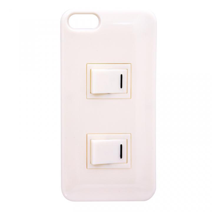 iPhone SE/5s/5 ケース パチパチスイッチケース ホワイト iPhone SE/5s/5ケース_0