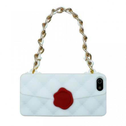 CLICHE 『SEAL STANPED』  iPhone SE/5s/5 white
