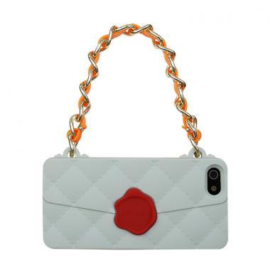 iPhone SE/5s/5 ケース CLICHE 『SEAL STANPED』  iPhone SE/5s/5 grey