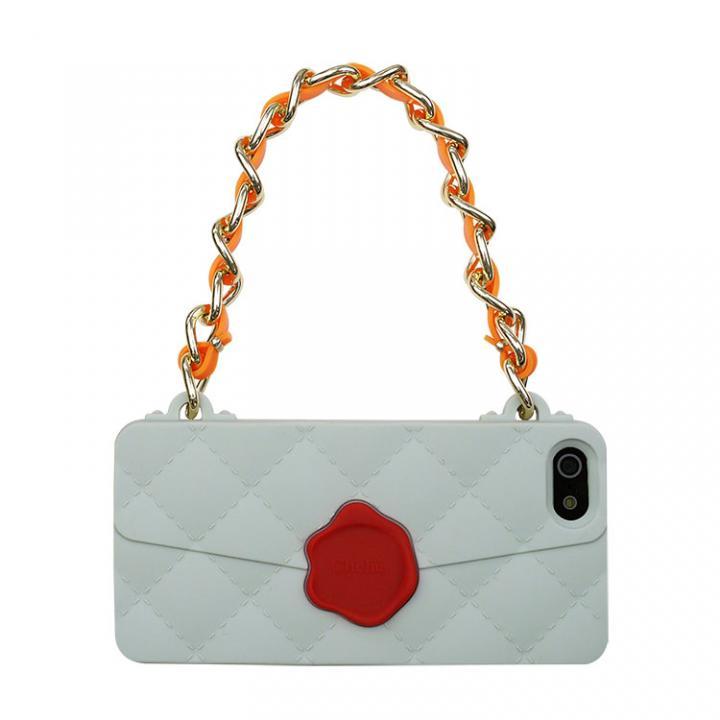 【iPhone SE/5s/5ケース】CLICHE 『SEAL STANPED』  iPhone SE/5s/5 grey_0