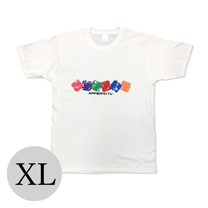 AppBank TV Tシャツ ホワイト XLサイズ_0