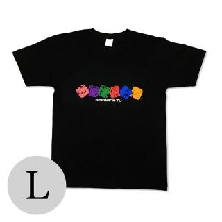 AppBank TV Tシャツ ブラック Lサイズ