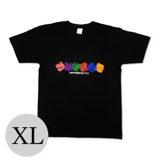 AppBank TV Tシャツ ブラック XLサイズ