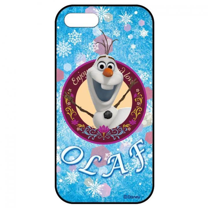 【iPhone SE/5s/5ケース】アナと雪の女王 ディズニー スライド式ケース オラフ iPhone SE/5s/5ケース_0
