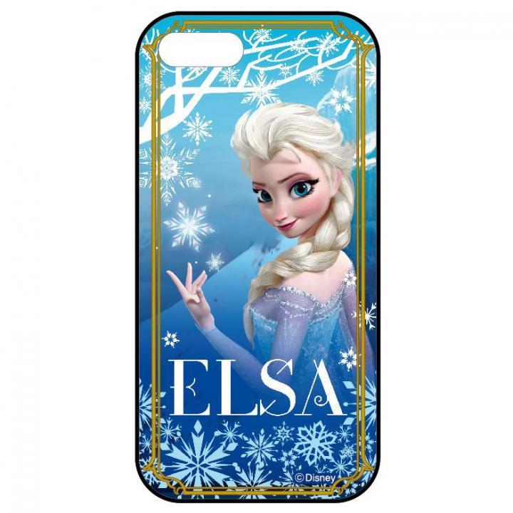 iPhone SE/5s/5 ケース アナと雪の女王 ディズニー スライド式ケース エルサ iPhone SE/5s/5ケース_0