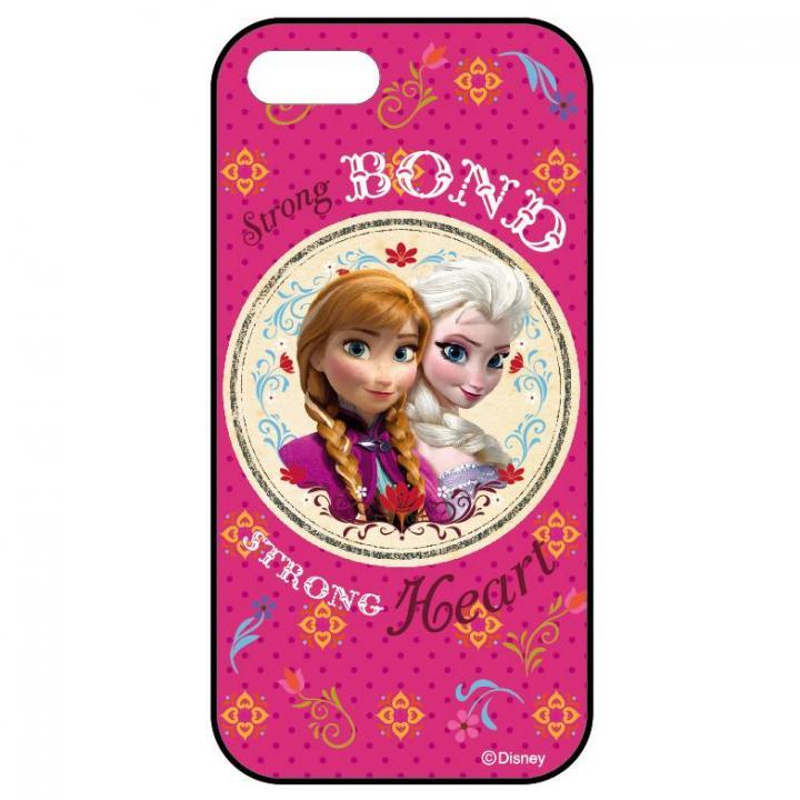 iPhone SE/5s/5 ケース アナと雪の女王 ディズニー スライド式ケース アナ&エルサ iPhone SE/5s/5ケース_0