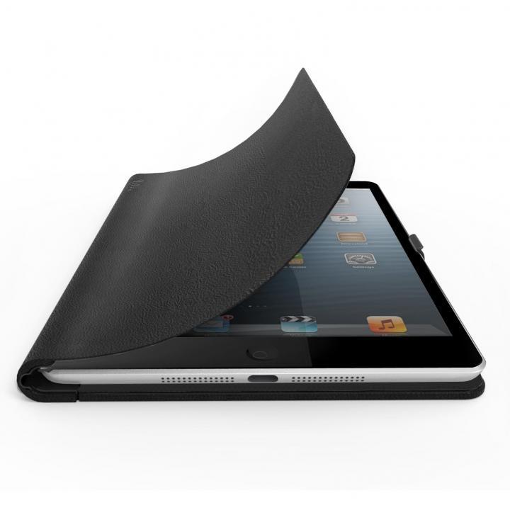 16段階に調整 レザーケース FlipBook mini ブラック iPad mini/2/3ケース_0