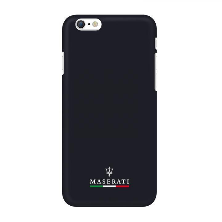 【iPhone6ケース】イタリア「マセラティ」社公認 ライン ハードケース ネイビー iPhone 6_0