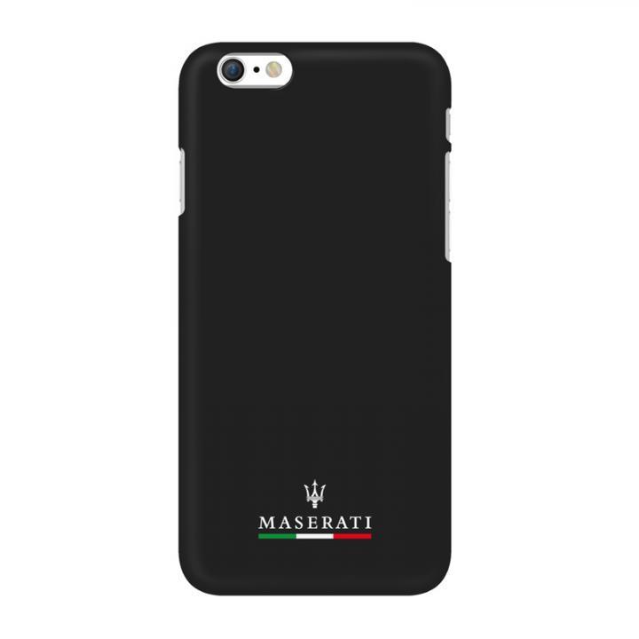 iPhone6 ケース イタリア「マセラティ」社公認 ライン ハードケース ブラック iPhone 6_0