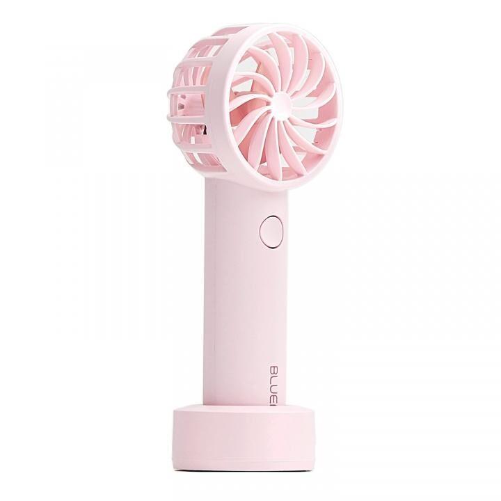 BLUEFEEL PRO 超小型ヘッド ポータブル扇風機 マカロンピンク【5月下旬】_0